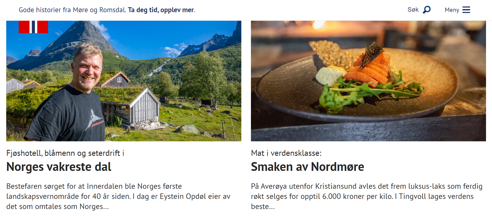 Norgeskampanjen Advertorials
